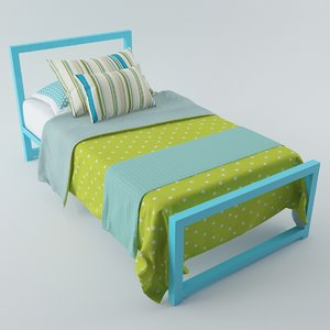 3dsmax child bed 02