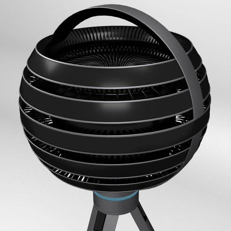 virtual reality video camera 3d max