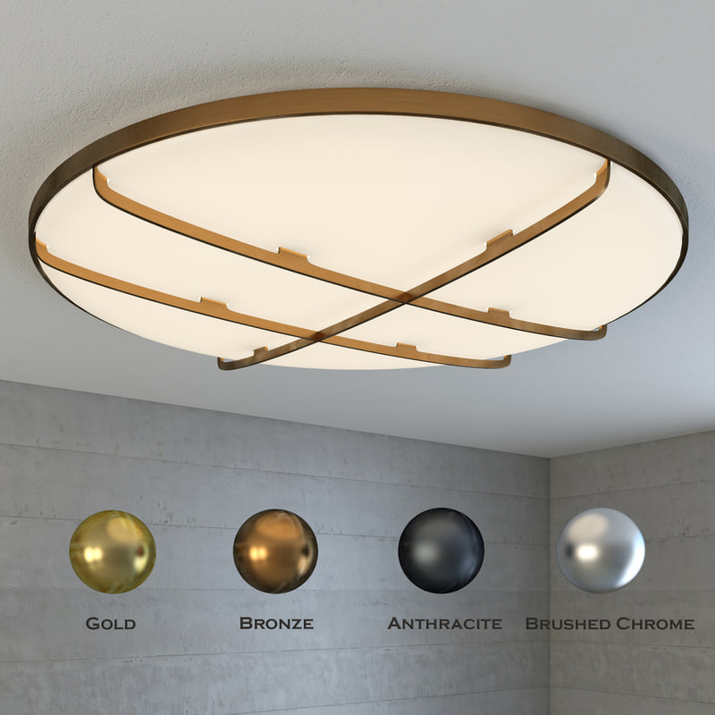 modern ceiling light 3d max