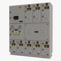 Industrial Electrical Panel 2