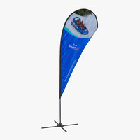 3ds banner stand 3