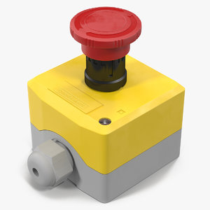 3d industrial push button switch
