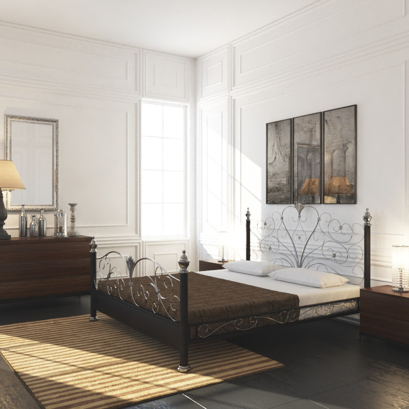 french country interior bedroom max