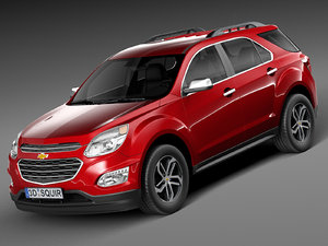 3ds max 2016 chevrolet equinox