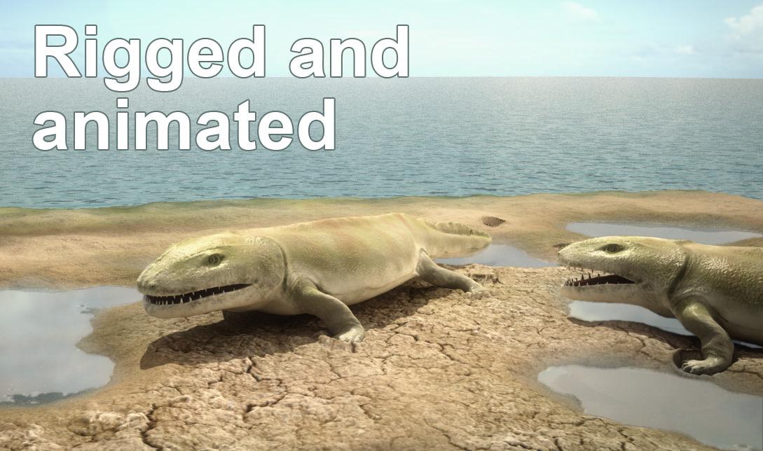 ma creature tetrapod ichthyostega