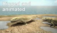 Tetrapod Ichthyostega