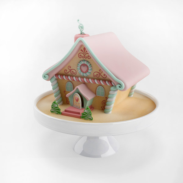 3ds christmas ginger bread house