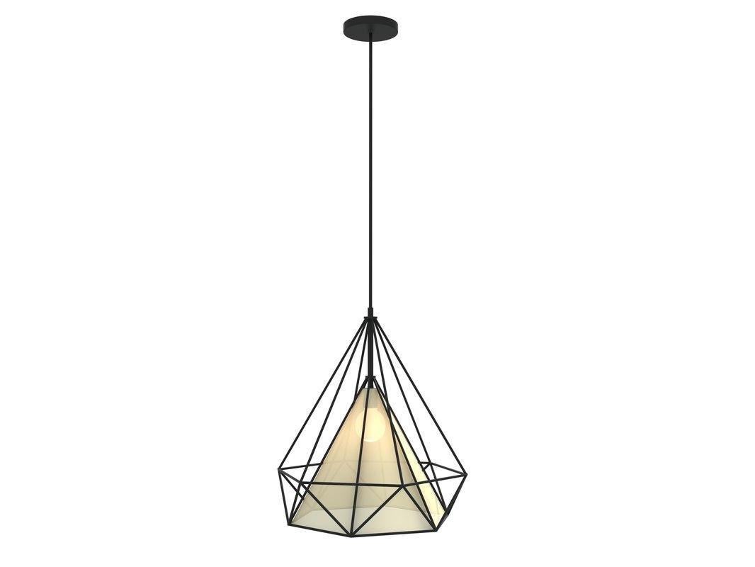 modern hanging lamp light 3d dxf