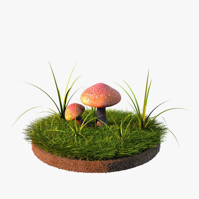 max scene mushrooms