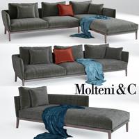 Chelsea sofa , Molteni & C
