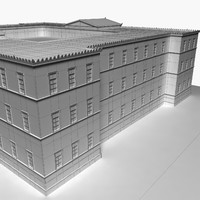 3d greek legislative building