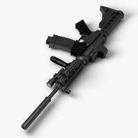 m4 assault rifle