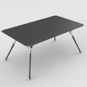 3d model codutti genesis table design