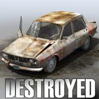 Derelict Car 04