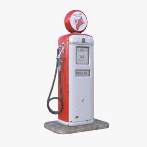 max retro gas pump
