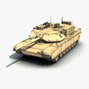 main battle tank 3D models