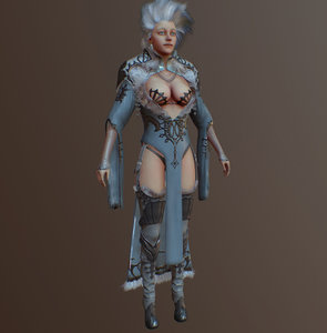 3d model witch