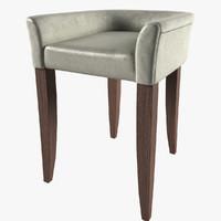 custom chair 3d obj