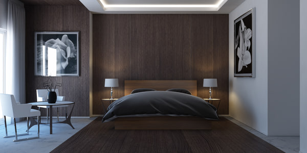 3d model bedroom marvelous designer