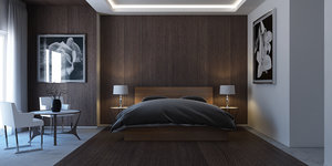 3d model bedroom marvelous designer