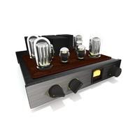 tube amp 3d obj