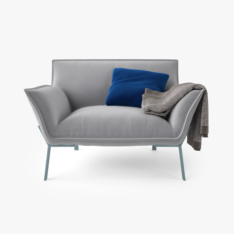3d jardan lewis armchair model