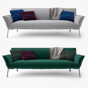 3d model jardan lewis sofa