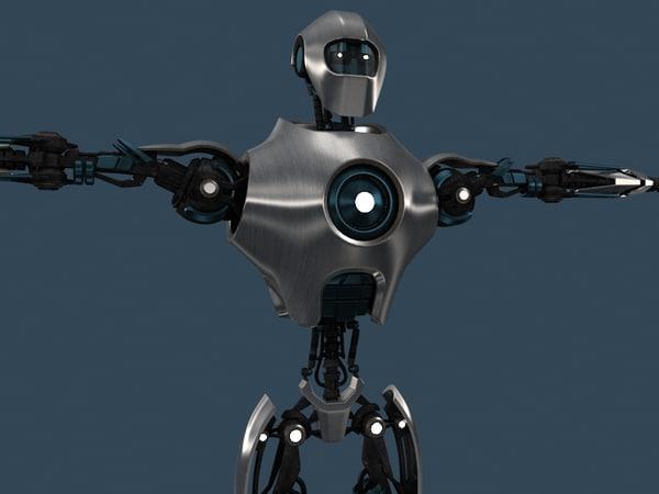 3d model robot rm400
