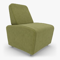 realistic sillon boss 03 3d 3ds