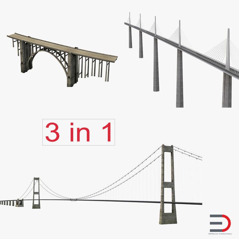 3dsmax bridges set bixby