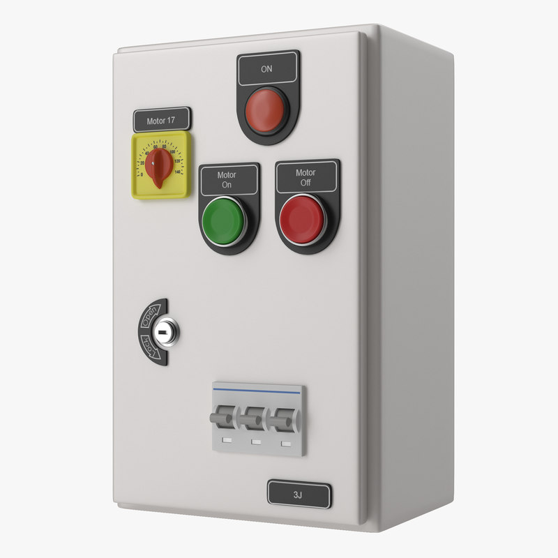 Electrical Panel 3D Models for Download | TurboSquid
