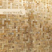 3d stone mosaic