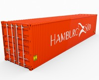 HAMBURG SUD Shipping Container 2