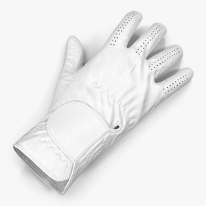 bowling glove modeled 3ds