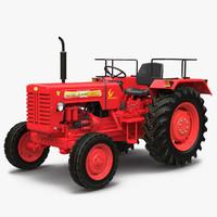 tractor mahindra 395 di 3d model