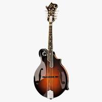 gibson f5g mandolin 3d max
