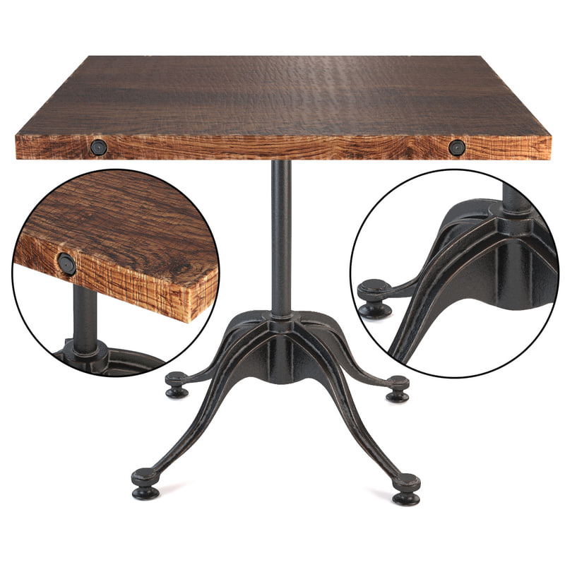 3d model v42 bistro table large