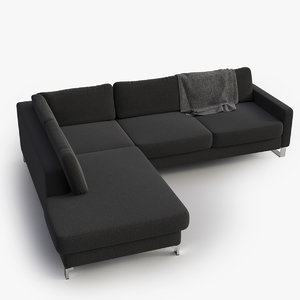 max sofa dark grey