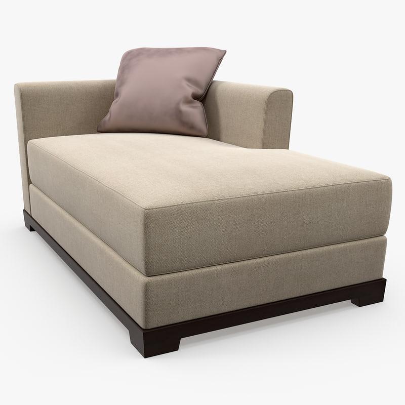 promemoria - wanda chaise lounge 3d model