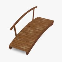 3dsmax wooden bridge