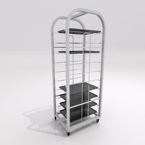 3d max tray return station