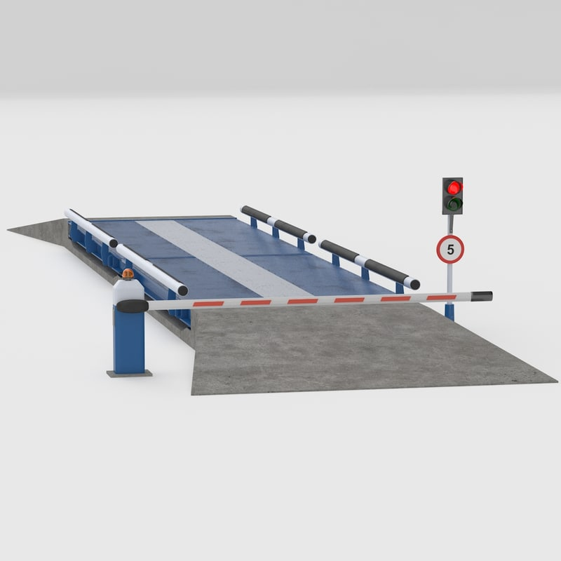 3d truck scales