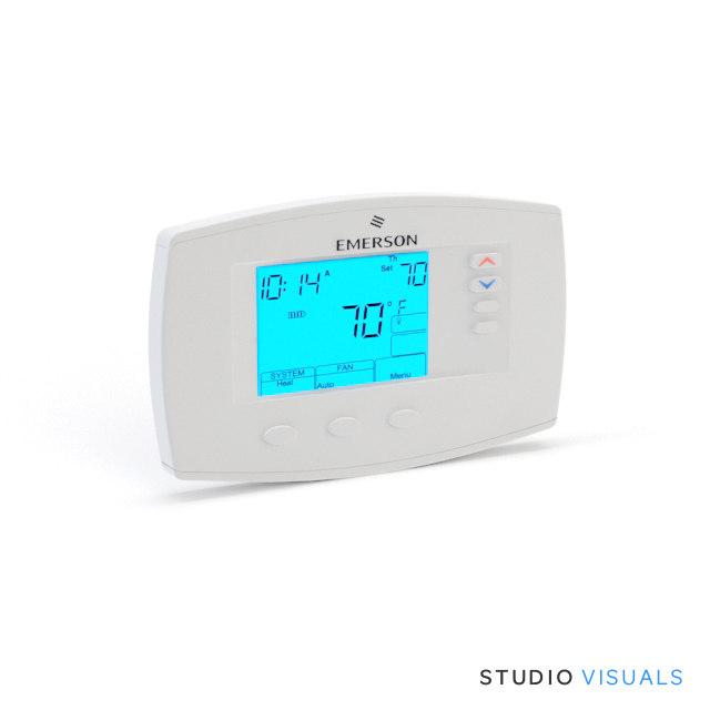 max emerson digital thermostat