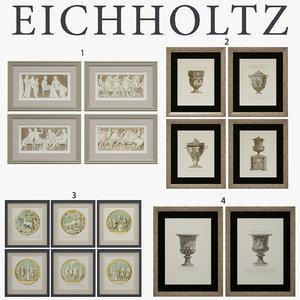 3d frames eichholtz prints model