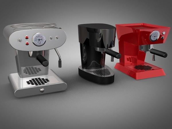 francis espresso machines 3ds