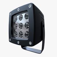 3d model spot led light