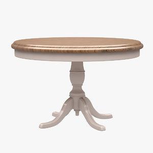 3d model table hancerli