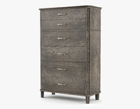 3d model alvius drawer chest