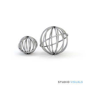 3d sphere wire