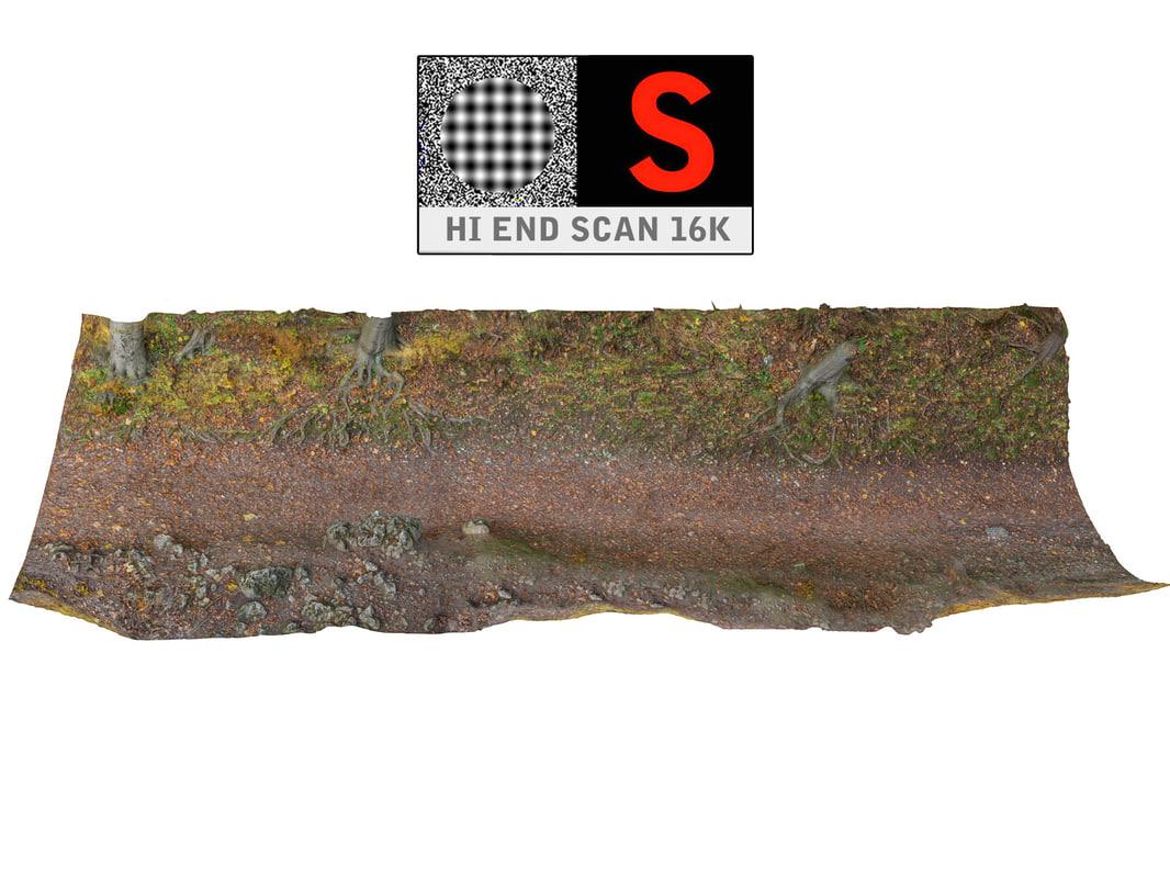 3d ravine forest autumn 16k
